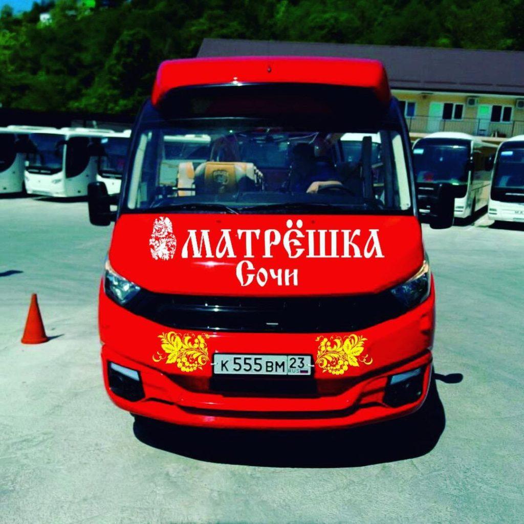 Автобус Матрёшка