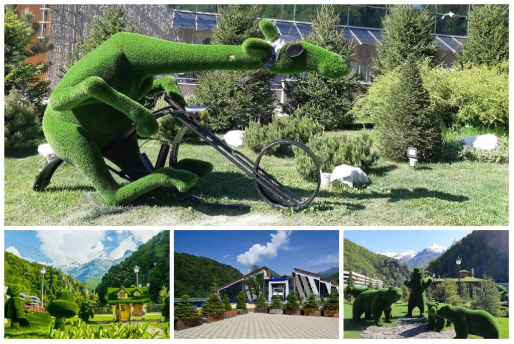 Экскурсия Роза Хутор. Зеленый парк