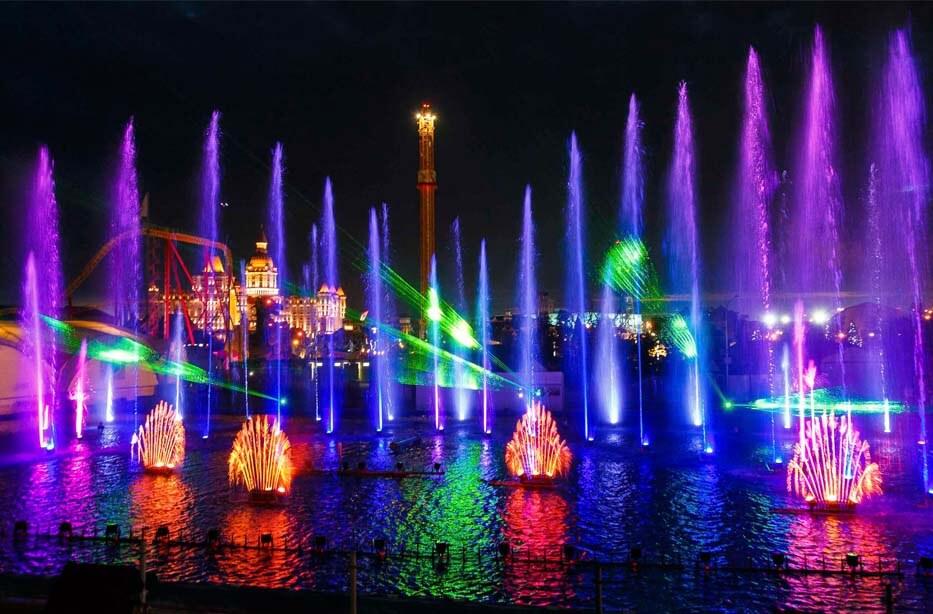 Экскурсия в вечерний Олимпийский парк